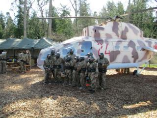 Delta Force Paintball Reading