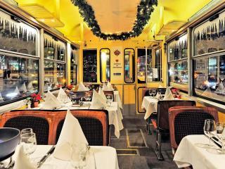 cheese fondue tram