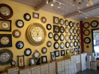 lavish antique clocks