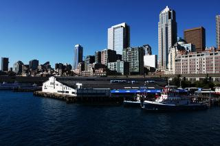 the seattle waterfront or central waterfront
