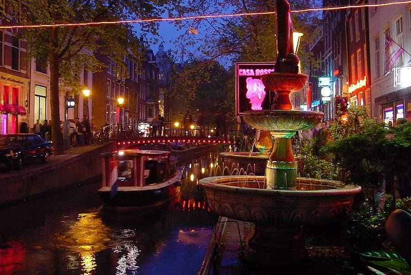 Red Light District By Night - A Very Special Experience! - Amsterdam