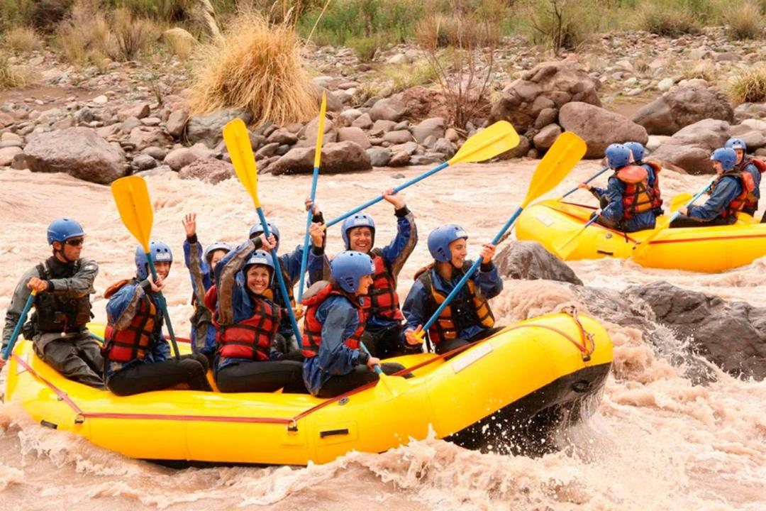 Rafting At Mendoza River