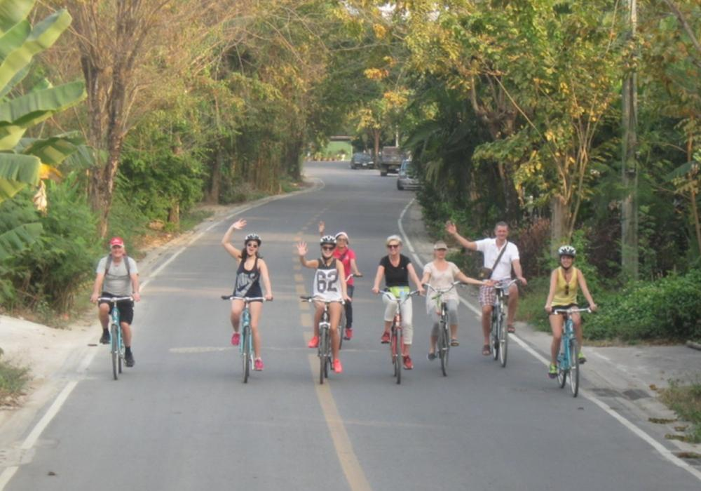 Half Day Bike Tour In Bangkok