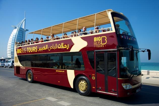 Big Bus Hop-On-Hop-Off  Sightseeing Tour Dubai