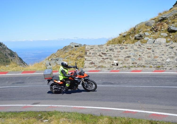 BMW F800GS Motorcycle Rental Romania - Turda