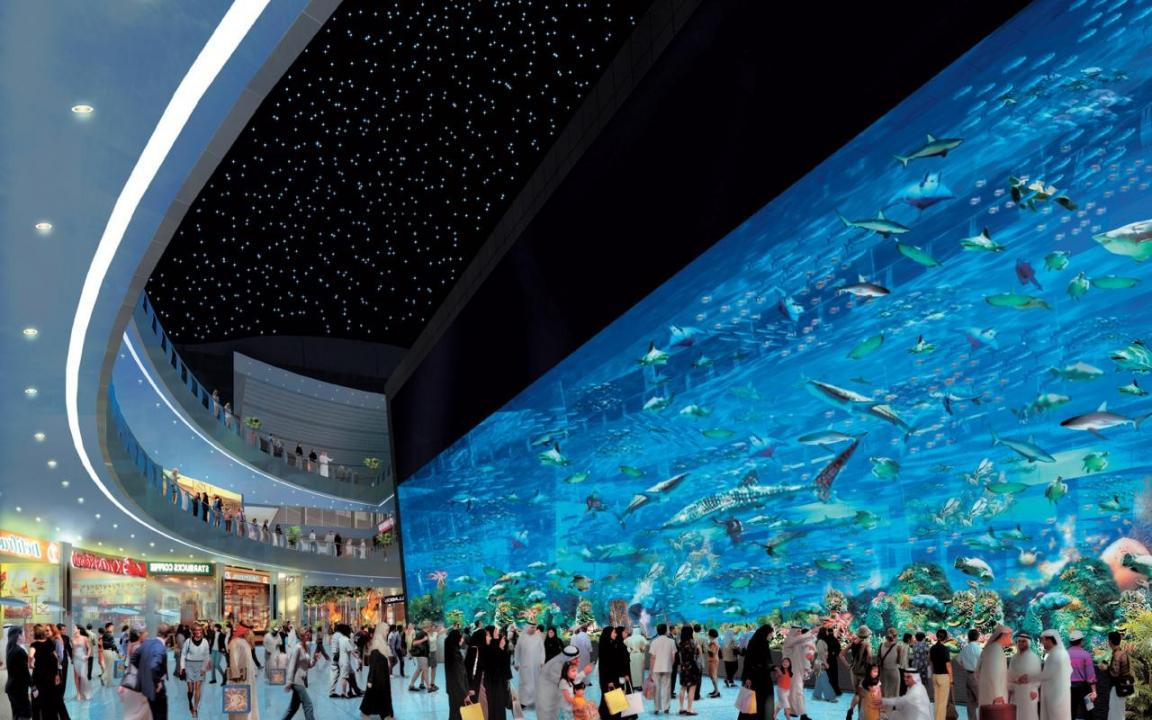 The Largest Mall in the World - The Dubai Mall