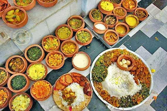 Jagannath Temple, Puri, Odisha - Mega Kitchen in India