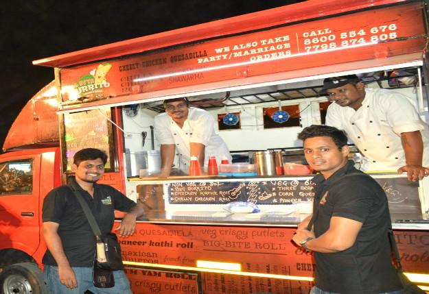 Catch The Busy Crowded And Fast Local To Vasai Youll Be Rewarded With Food At Big Bite Burrito