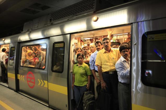 Image result for Metro still not popular choice for Delhiites