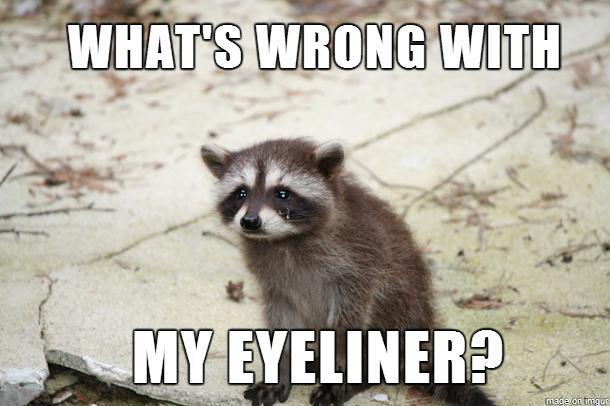 do not wear make up