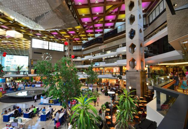 underground commercial complex in Montreal