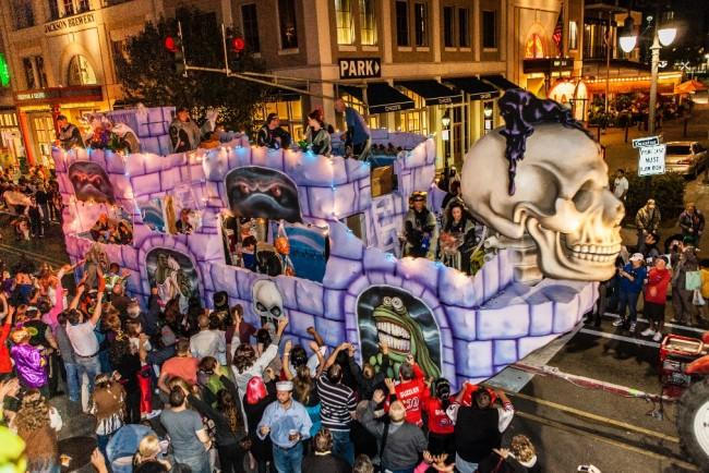 New Orleans - haunted place in USA for hallowwen celebrations