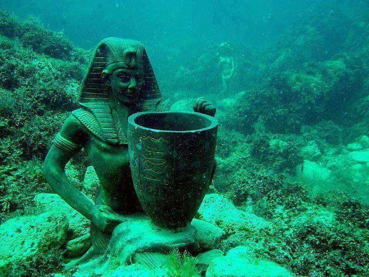 Submerged Wonders of Alexandria, Egypt - Mysterious Ruins of the Royal Quarters of Cleopatra