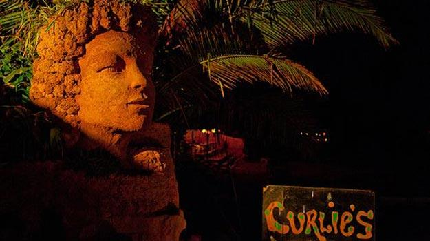 places you can not miss in Goa - Curlies Shack