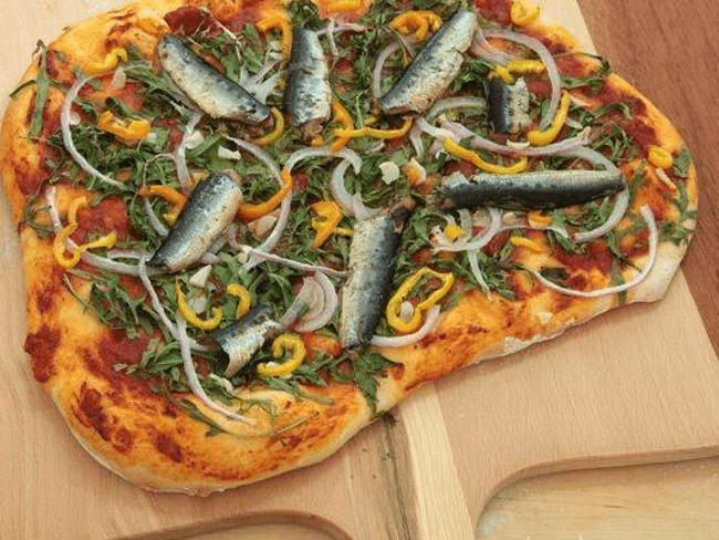 Mockba Pizza in Russia