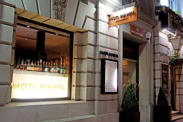 Indian Restaurants Near Trafalgar Square Covent Garden