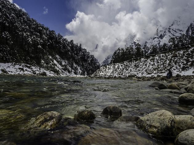 Teesta River - one of the cleanest rivers in India