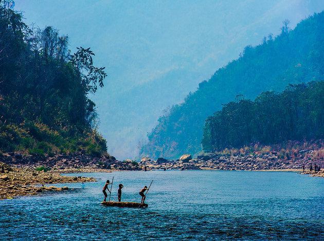 Tuipui River, Mizoram