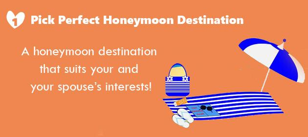 how to plan you honeymoon in simple steps