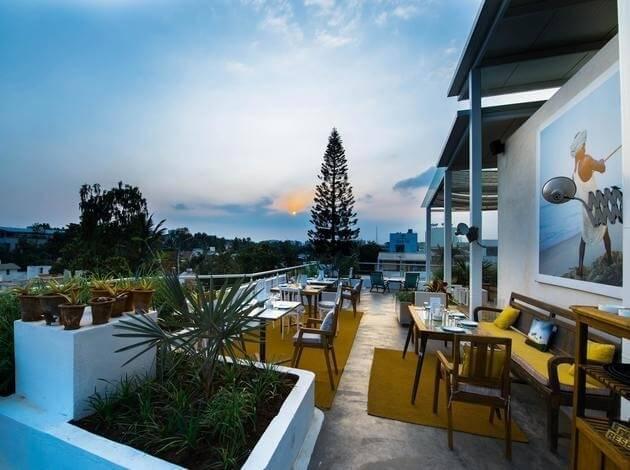 Om Made Cafe - Rooftop cafe