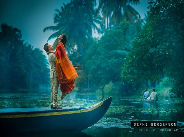Kerala - Pre-Wedding Photo Shoot Locations in India