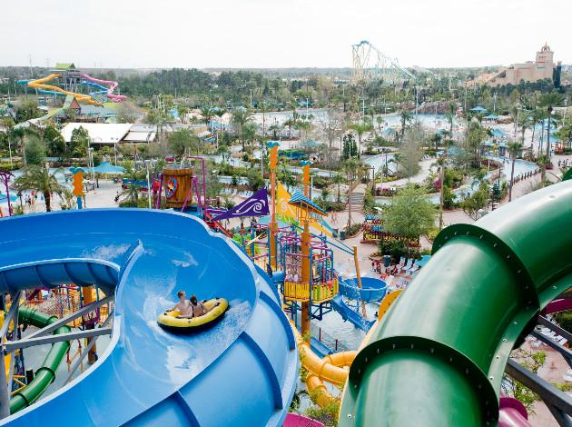 Family water parks in India