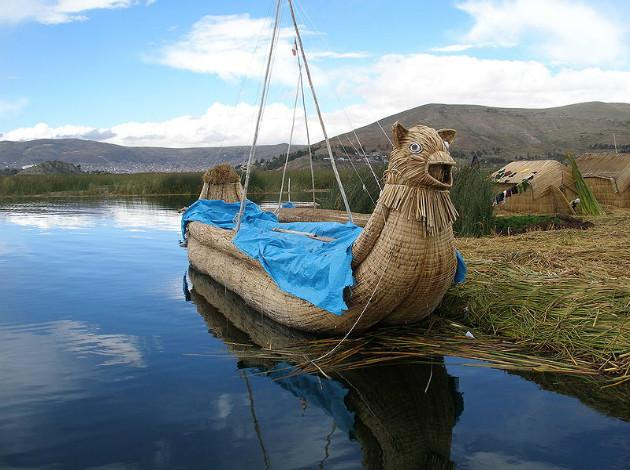 Totora Boats