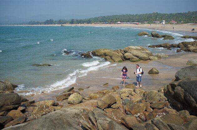 Agonda beach - Best Sunbathing Place