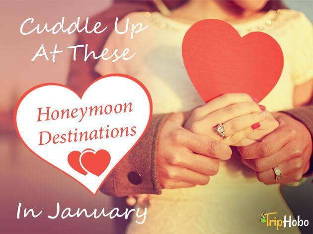 honeymoon destinations in January