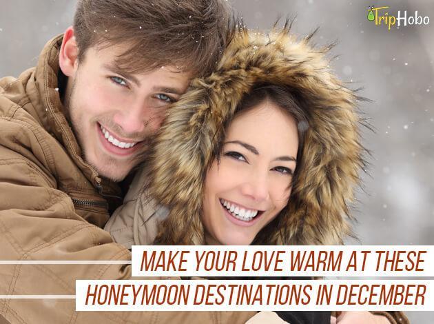 honeymoon destinations in December