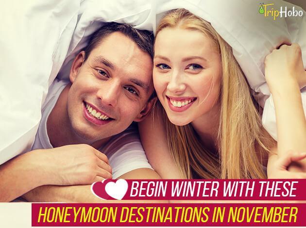 honeymoon destinations in November