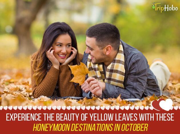 honeymoon destinations in october