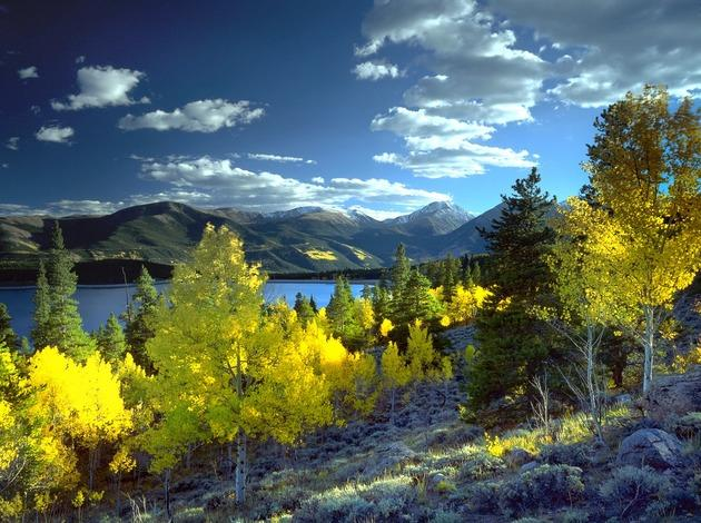 Aspen for activity filled honeymoon in USA