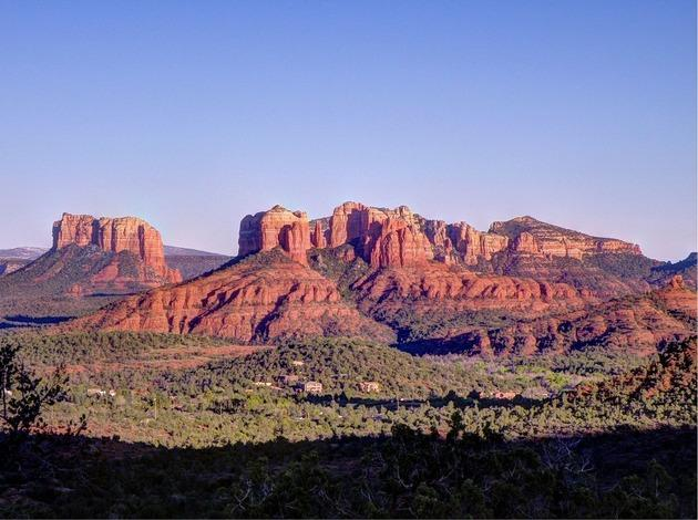 Sedona for a perfect honeymoon vacation in america