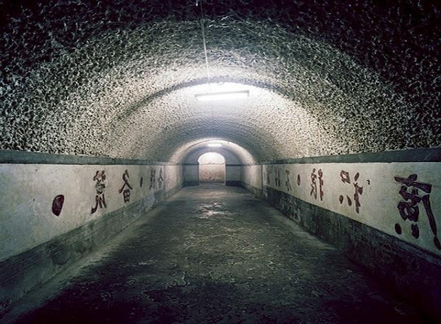 underground bomb shelter in China