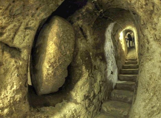 Derinkuyu, Cappadocia underground city