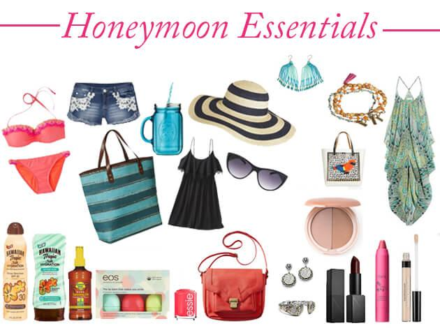 things to take with you on your honeymoon