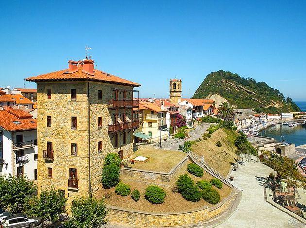 Getaria - coastal town in Europe