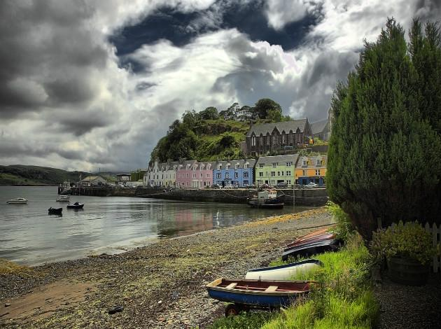 Portree, Europe's little town