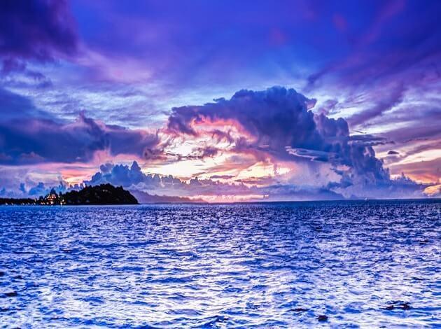Bora Bora Location