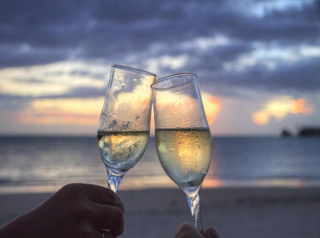 fine dining experience on Bali honeymoon