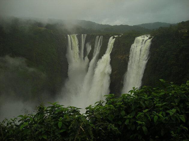Jog Falls - must visit during monsoon season