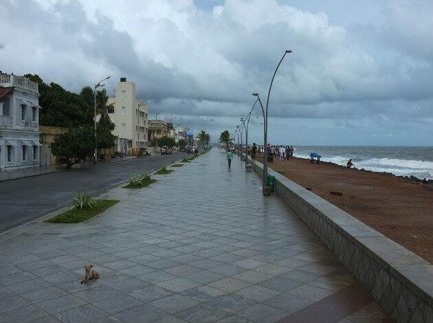 Pondicherry - best to see in Monsoon