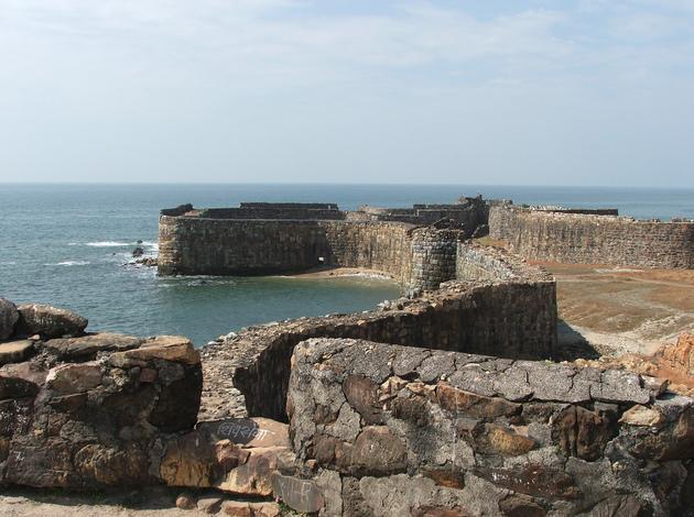 Sindhudurg - sea fort