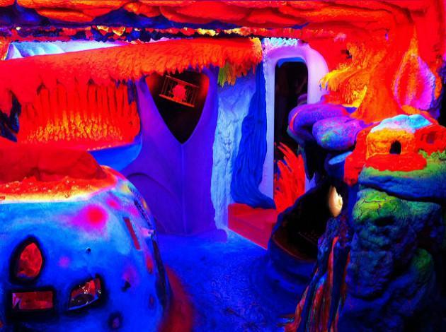Fluorescent art