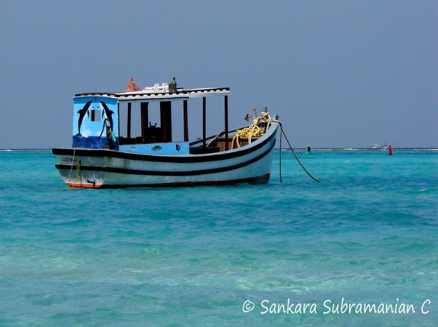 Lakshadweep Islands - ideal weather in winter