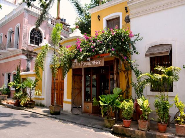 Pondicherry - honeymoon place in South India