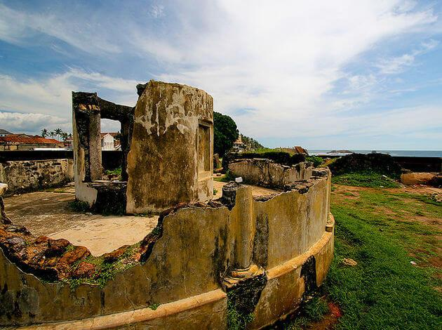 Galle Fort - historical ruins in Sri Lanka