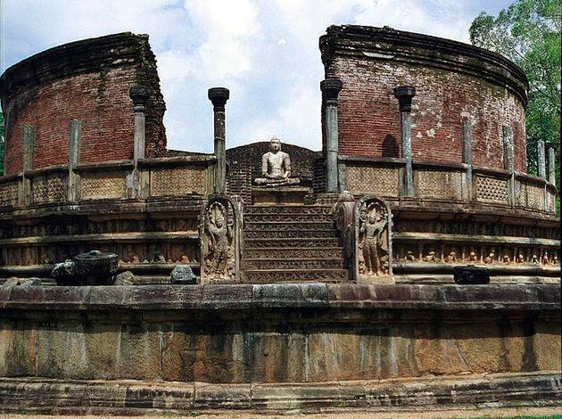Polonnaruwa - historical place in Sri Lanka