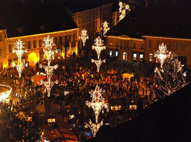 Klausen Christmas Market in Italy
